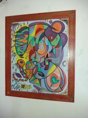 Ölgemälde Modern Farbkombosition Abstrakt