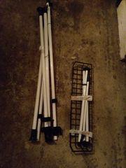 Teleskop Garderobe Wenko Herkules Duo