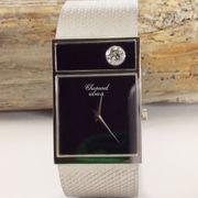 CHOPARD Armbanduhr 18K Weißgold Brillant