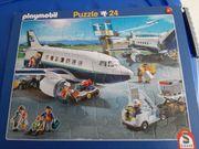 Kinderpuzzle Playmobil 24 teilig der