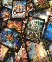 Kartenlegen Schau dem Schicksal in