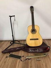 Edle wunderschöne klassische Gitarre