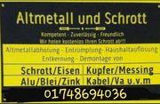NRW Schrott kostenlos Abholung