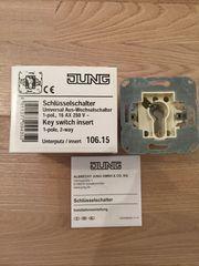 Jung 106 15 Schlüsselschalter Univeral