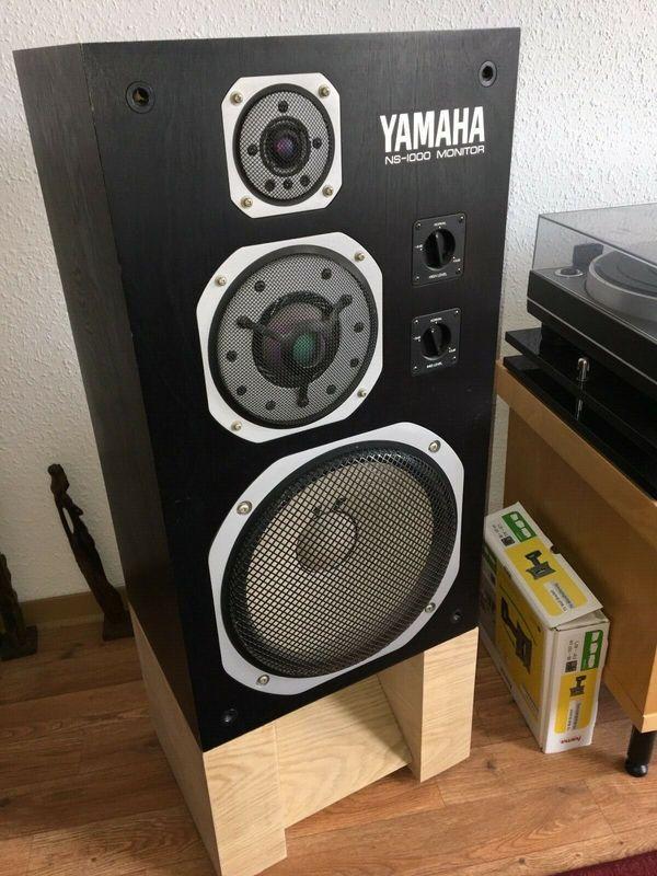 Yamaha NS-1000M mit Ständern - top