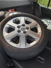 Opel Alufelgen mit Reifen