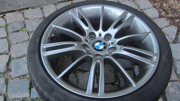 2 BMW M-Felgen Doppelspeichen 8Jx18