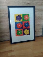 Kunstdruck 6 Flowers von Stanley