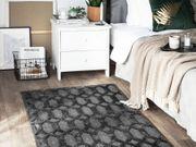 Teppich dunkelgrau 80 x 150