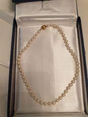 Perlenkette echt