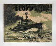 Lloyd Flottenbilder Deutsche Marine - Sammelalbum