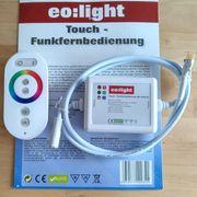 Touch Funkfernbedienung Funkdimmer für RGB