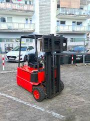 Linde E15 Gabelstapler Containerstapler
