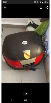 Topcase Motorrad Koffer Kappa schwarz