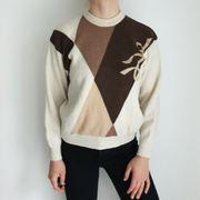 Vintage Pullover Pulli 46 Cardigan