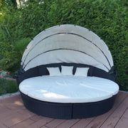 Sonneninsel Rattan Lounge Gartenliege Polyrattan