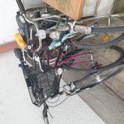 Damen Fahrrad an Bastler