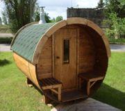 Sauna Saunafass 58mm Wandung L300cm
