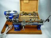 8-mm-WW- Uhrmacherdrehbank Boley-Leinen mit viel