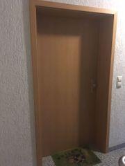 Zimmertür mit Zarge Buchefurnier