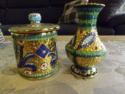 kleine Vase und kleines Döschen