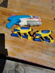 3 sk Spritzpistolen