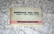 Original Honda CB250 CB350 Bedienungsanleitung