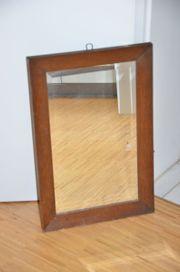Spiegel antik 30er Jahre dunkles