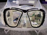 Taucherbrille nit Schnorchel