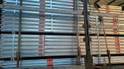 Stahl Gerüst 378 qm 27x14m -