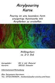 Acrylpouring Kurse