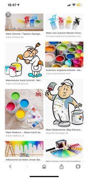 Maler arbeiten