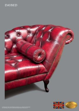 Polster, Sessel, Couch - Chesterfield Liegesofa