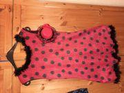 Wunderschönes Marienkäfer Kleid für Karneval