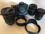 Verkaufe Nikon Fotoset