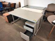 Schreibtisch 160x80x76 2teilig - HH02075
