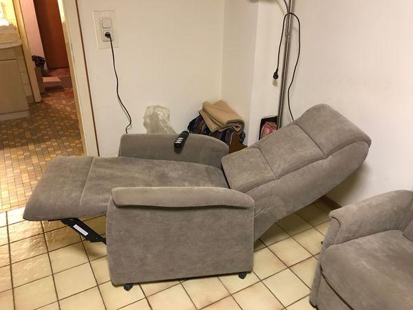 hochw Relax- Seniorensessel mit elektrischer