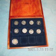 9 Stück 10 DM Münzen