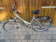 Damen Fahrrad Damen Rad silber