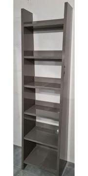 Bücherregal Regal Grau 207cm x