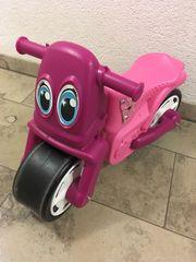 Mädchenmotorrad
