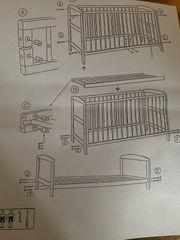 Neu noch nicht benutztes babybett