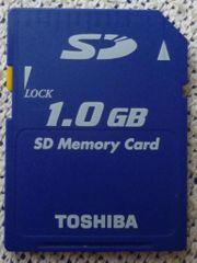 Toshiba SD-Karte 1 GB blau