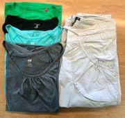 Sportkleidung Hose Shirts Gr 36