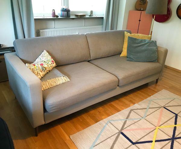 Ikea 3er Sofa Karlstad Mit Schlaffunktion Schlafcouch Bettsofa In