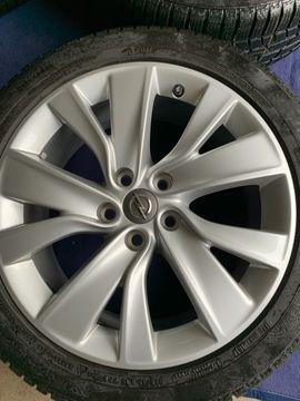 Sonstige Reifen - Original Opel Alufelgen mit Conti