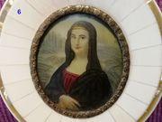 Lupenmalerei Portraits und andere Gesellschaftsmotive