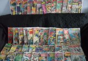 Hunderte alter DC-Comics Batman Superman