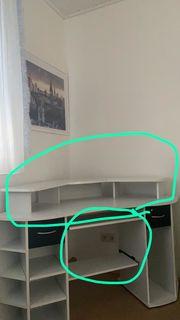 Eck-Schreibtisch zu verschenken