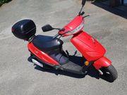 Roller 50ccm in Rot 2